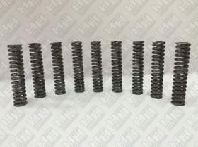 Комплект пружинок (9шт.) для гусеничный экскаватор DAEWOO-DOOSAN S400 LC-V (129989)