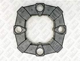 Эластичное соединение (демпфер) для экскаватор колесный JCB JS145W (333/J4624, 331/25063, 331/25063)